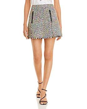 Armani - Tweed Mini Skirt