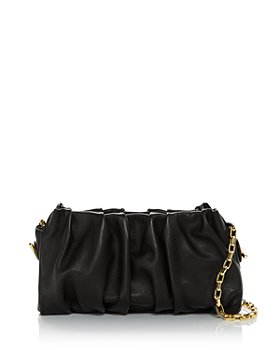 Elleme - Vague Pleated Leather Convertible Bag