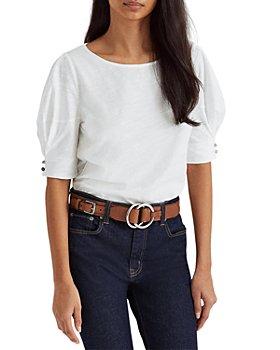 Ralph Lauren - Elbow Sleeve Jersey Top