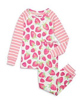 Hatley - Girls' Organic Cotton Delicious Berries Printed Pajama Set - Little Kid, Big Kid