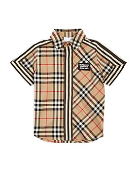Burberry - Boys' Barrett Vintage Check Shirt - Little Kid, Big Kid