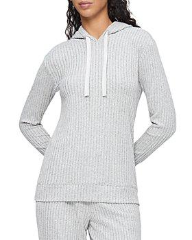 Calvin Klein - Ribbed Knit Hoodie