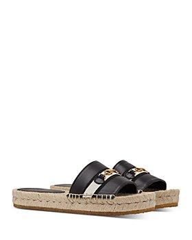 Salvatore Ferragamo - Women's Espadrille Slide Sandals