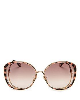 Chloé - Women's Round Sunglasses, 63mm