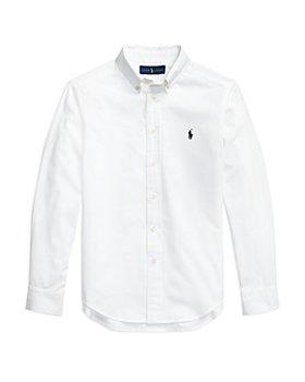 Ralph Lauren - Boys' Seersucker Long Sleeve Button Down Shirt - Little Kid, Big Kid