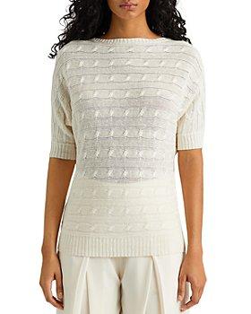 Ralph Lauren - Cable Knit Linen Sweater
