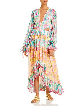 Rococo Sand - Crinkle Chiffon Maxi Dress