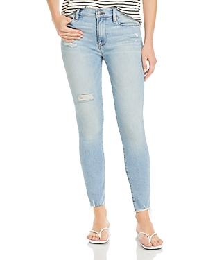 Frame Le Skinny Dj Cropped Jeans in Alemany