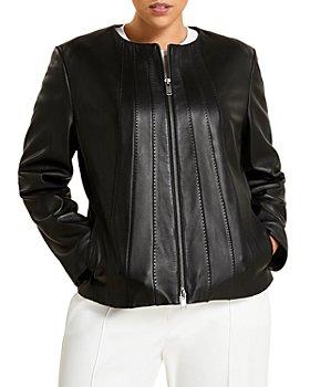Marina Rinaldi - Elettra Leather Jacket