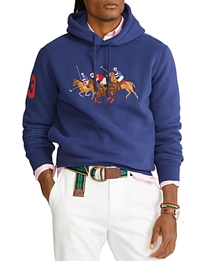 Polo Ralph Lauren TRIPLE-PONY FLEECE HOODIE SWEATSHIRT