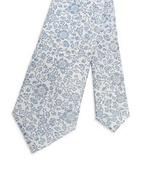 Ted Baker - Floral Jacquard Silk Skinny Tie