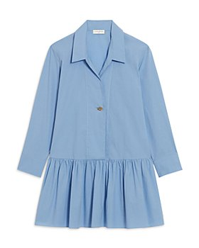 Sandro - Cordelia Pleated Skirt Dress