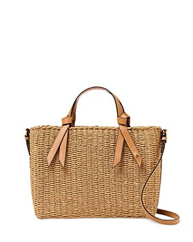 Etienne Aigner - Luca Medium Boxy Straw Beach Satchel