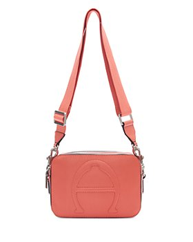 Etienne Aigner - Adeline Small Leather Camera Crossbody