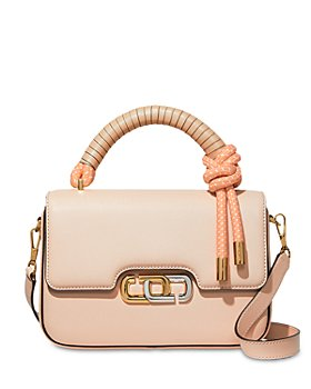 MARC JACOBS - The J Link Twist Leather Shoulder Bag