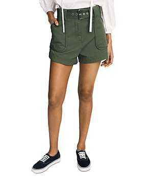 Derek Lam 10 Crosby - Belted Shorts
