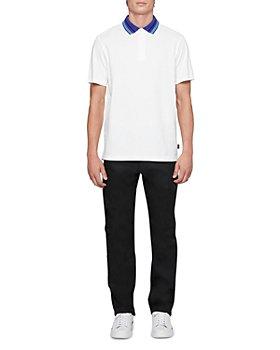 PS Paul Smith - Contrast Collar Short Sleeve Polo Shirt