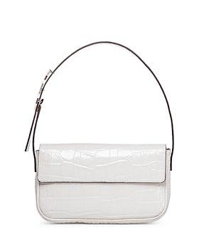 STAUD - Tommy Medium Leather Handbag