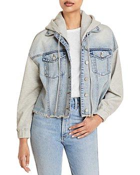 BLANKNYC - Layered Look Denim Jacket