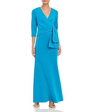 Side Drape A-Line Gown