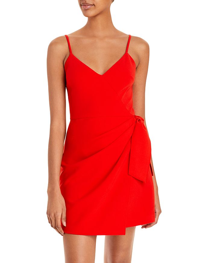 FRENCH CONNECTION Dresses WHISPER FAUX WRAP DRESS