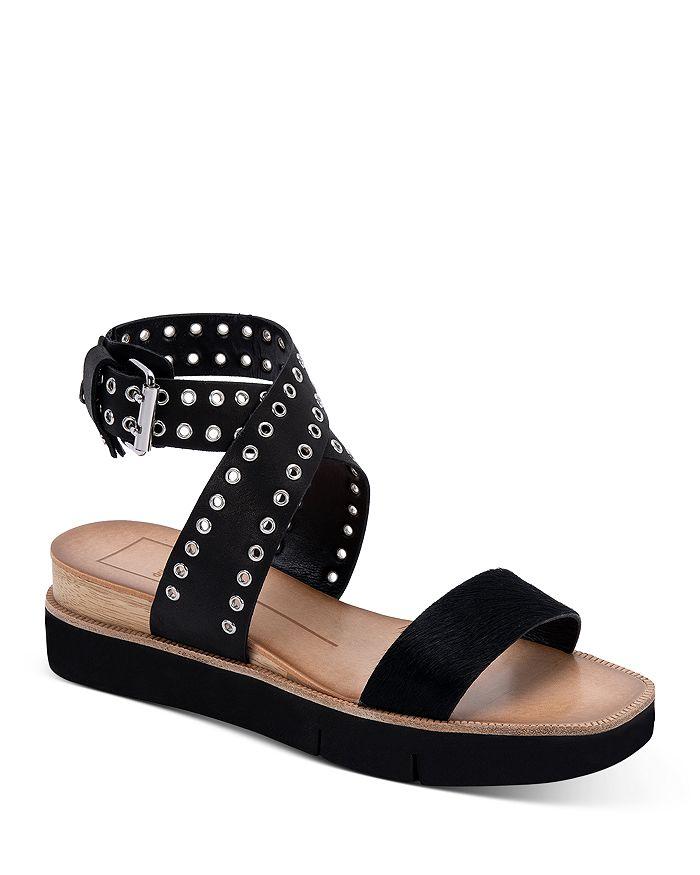 Dolce Vita - Women's Panko Stud Eyelet Platform Sandals