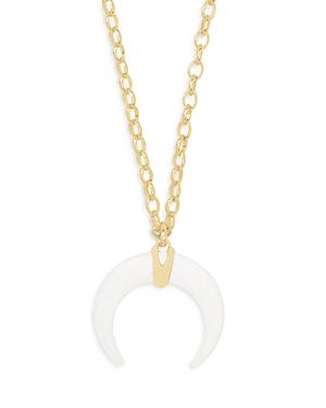 Kendra Scott Rebecca Crescent Pendant Necklace, 28