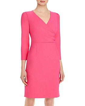 BOSS - Daraya Faux Wrap Dress