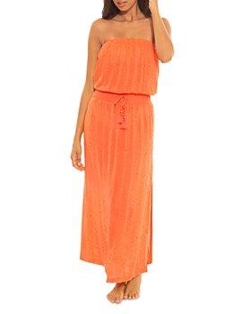 Soluna - Goa Strapless Midi Dress Cover-Up