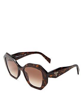 Prada - Women's Geometric Sunglasses, 53mm
