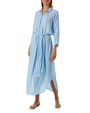 Melissa Odabash ALESHA LONE SLEEVE COVER-UP MAXI DRESS