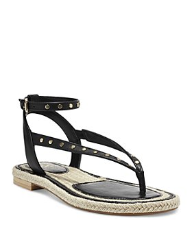 VINCE CAMUTO - Women's Kalmia Ankle Strap Studded Sandals