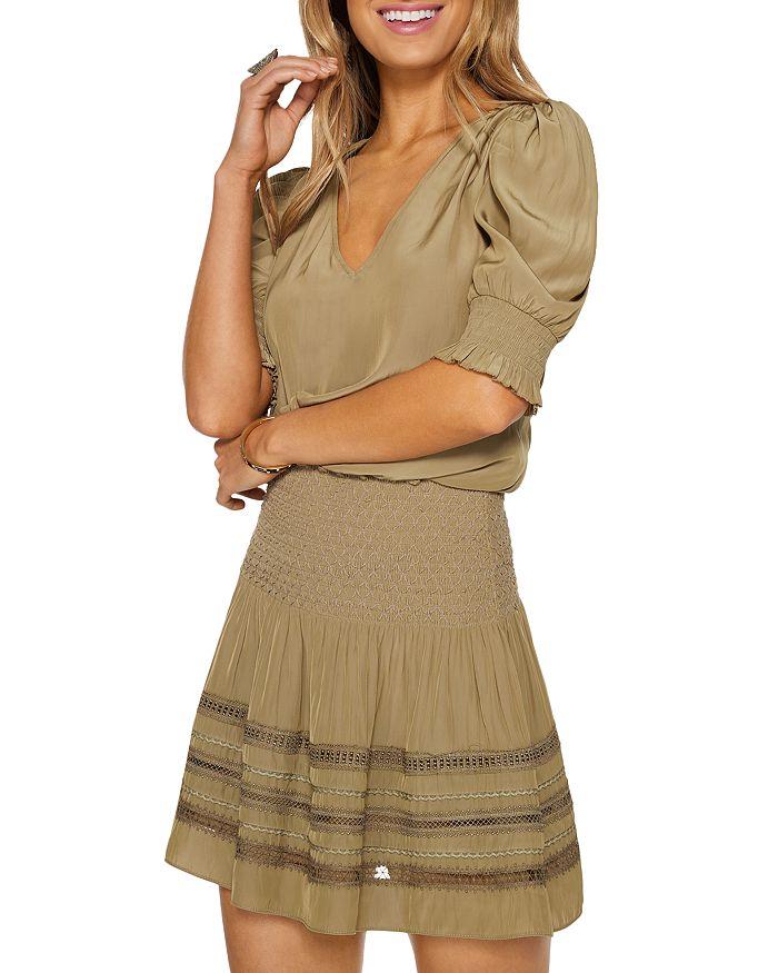 Ramy Brook Mini dresses OLLIE EMBROIDERED MINI SKIRT