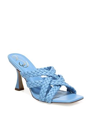 Sam Edelman WOMEN'S MARJORIE SLIP ON HIGH HEEL SANDALS