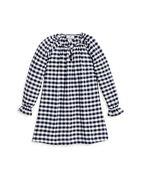 Petite Plume - Girls' Delphine Gingham Nightgown - Baby, Little Kid, Big Kid