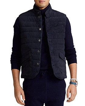 Polo Ralph Lauren - Quilted Suede Vest
