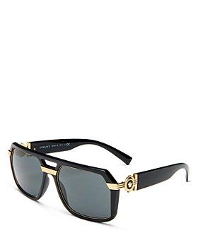 Versace - Men's Brow Bar Square Sunglasses, 58mm