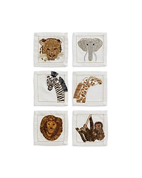Kim Seybert - Out of Africa Cocktail Napkins, Set of 6