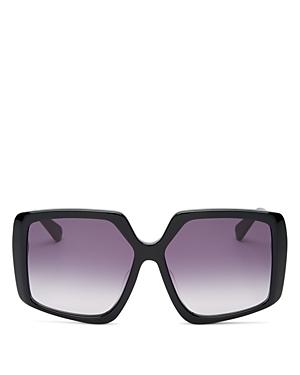 Karen Walker Women's Square Sunglasses, 58mm
