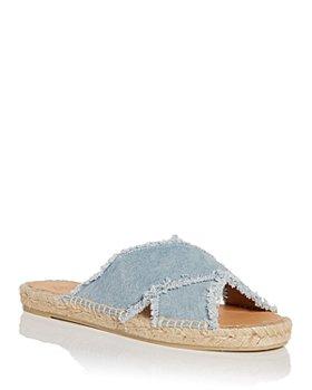 Castañer - Women's Palmera Espadrille Slide Sandals