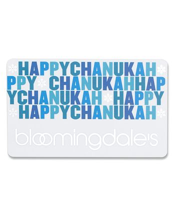 Bloomingdale's - Only at  Happy Chanukah Gift Card