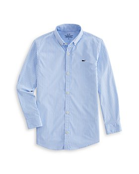 Vineyard Vines - Boys' Cottage On the Go Performance Whale Shirt - Little Kid, Big Kid