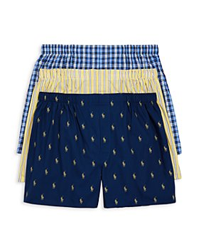Polo Ralph Lauren - Woven Classic Fit Boxers, Pack of 3
