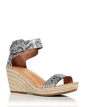 Gentle Souls by Kenneth Cole - Women's Charli Espadrille Wedge Sandals - 100% Exclusive