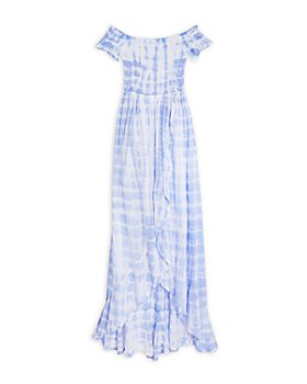 Tiare Hawaii - Girls' Cheyenne Tie Dye Maxi Dress - Big Kid