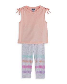 Splendid - Girls' Sleeveless Tee & Dip Dye Leggings Set - Baby