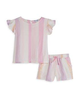Splendid - Girls' Cali Striped Top & Shorts Set - Baby