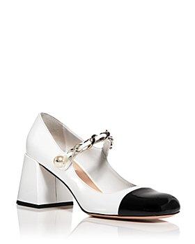 Miu Miu - Women's Calzature Donna Ankle Strap High Heel Sandals