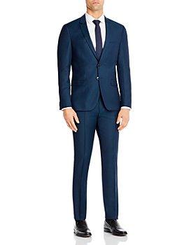 HUGO - Arti & Hesten Birdseye Extra Slim Fit Suit Separates