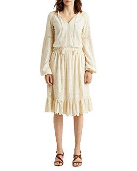 Ralph Lauren - Eyelet Peasant Dress